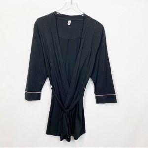 Belabumbum Black Lounge Robe Large